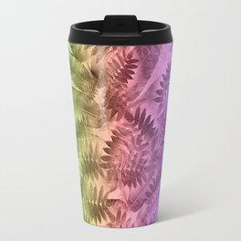 Rainbow Leaves Travel Mug