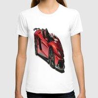 lamborghini T-shirts featuring Lamborghini Veneno by rosita