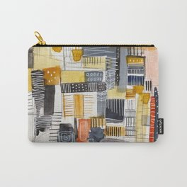 Autumn Rituals Abstract Painting Carry-All Pouch