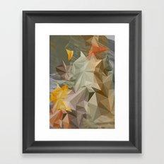 Hall of mirrors Framed Art Print