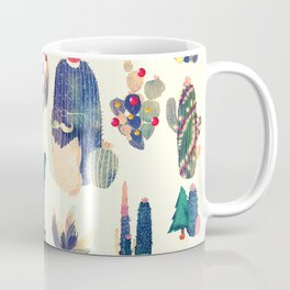 cactus ready for Christmas Coffee Mug