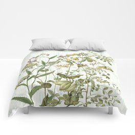Cultivating my mind garden Comforters