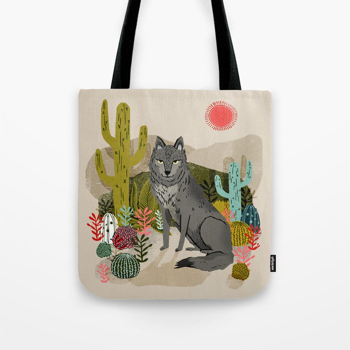 Wolf by Andrea Lauren  Tote Bag