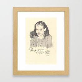 Winona Forever Framed Art Print