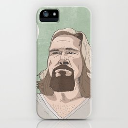 Lebowski iPhone Case