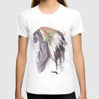 indiana T-shirts featuring Indiana  by Megan Sheridan