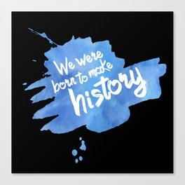 History Maker {Yuri on Ice} Canvas Print