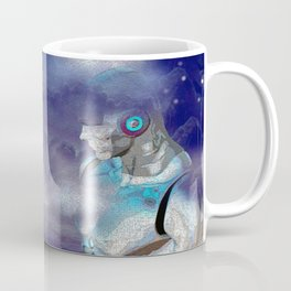 Man Cyborg Machine Coffee Mug