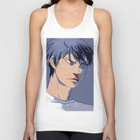 haikyuu Tank Tops featuring curly frie 2.2 by Greyson J