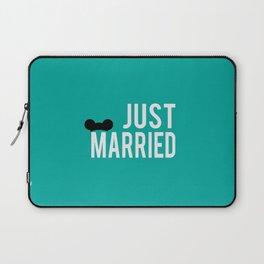 just married Laptop Sleeve