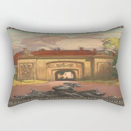 Vintage poster - France Rectangular Pillow