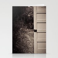 door Stationery Cards featuring Door by Vintage Rain Photography