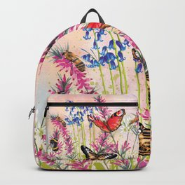 Wild meadow butterflies Backpack