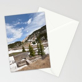 Ore Loading Chute above Sheridan Summit, No. 1 of 2 Stationery Cards