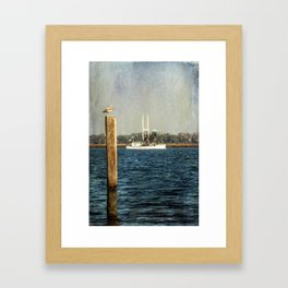 Shrimp Boat Framed Art Print