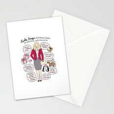 Queen Leslie Knope Stationery Cards