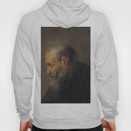 Rembrandt - Study of an Old Man in Profile (1630) Hoody