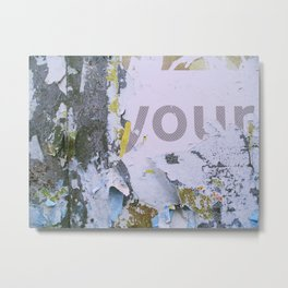 Temporary Landscapes Series Metal Print