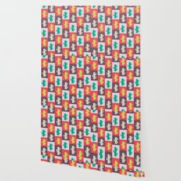 Rectangle cacti Wallpaper