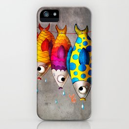 Fish Sale iPhone Case
