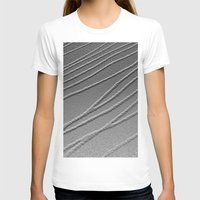 gray pattern T-shirts featuring Relief - Gray by Rose Etiennette