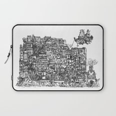 Busy City IV Laptop Sleeve