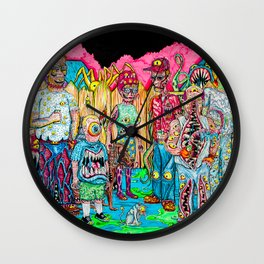 King of the Mutants Wall Clock