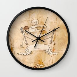 HEAD HUNTING- I Wall Clock