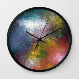 Patchwork Sky Wall Clock