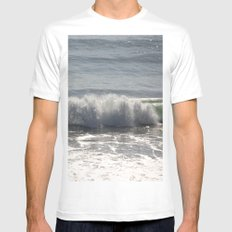 Splash Mens Fitted Tee White MEDIUM