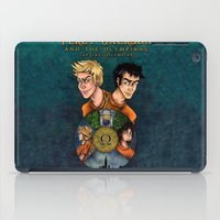 percy jackson iPad Cases featuring Percy Jackson and the Olympians, The Last Olympian by Yuri Meister
