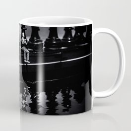 Contemplating Your Next Move when reflecting make sure your memories are clear Coffee Mug