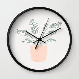 little fern Wall Clock