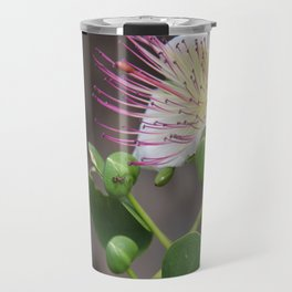 Capers Flower And Fruits Travel Mug