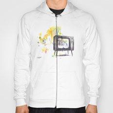 Retro Television Painting Hoody