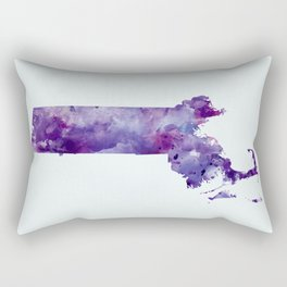 Massachusetts Rectangular Pillow