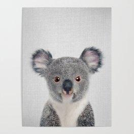 Baby Koala - Colorful Poster