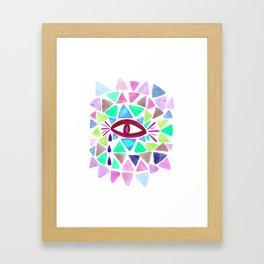 Crystaleyes 3 Framed Art Print