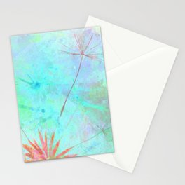 Paint A Dandelion Stationery Cards