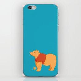 Pooh Bear iPhone Skin