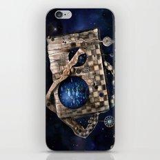 Aqua Space iPhone Skin