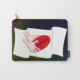 Japan Rugby Flag Carry-All Pouch