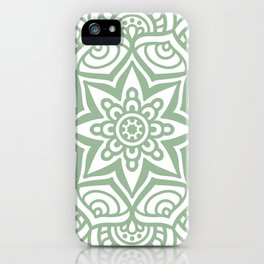 Mandala 23 iPhone Case