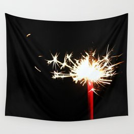 Single Sparkler Wall Tapestry