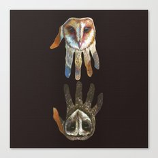 Hands of Darkness Canvas Print
