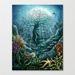 Undersea Witness Canvas Print