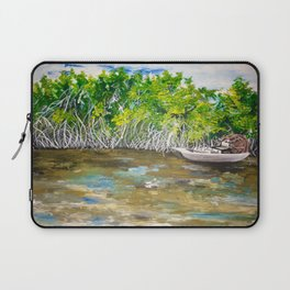 Florida Mangrove Tea Water in the Everglades Laptop Sleeve