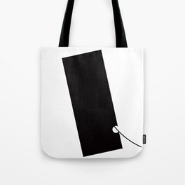 Black and White Element III Tote Bag