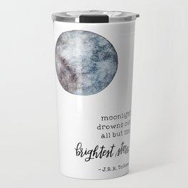 Moonlight with Tolkien Travel Mug