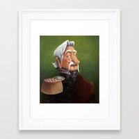 general Framed Art Prints featuring General by Jinwoo Kim